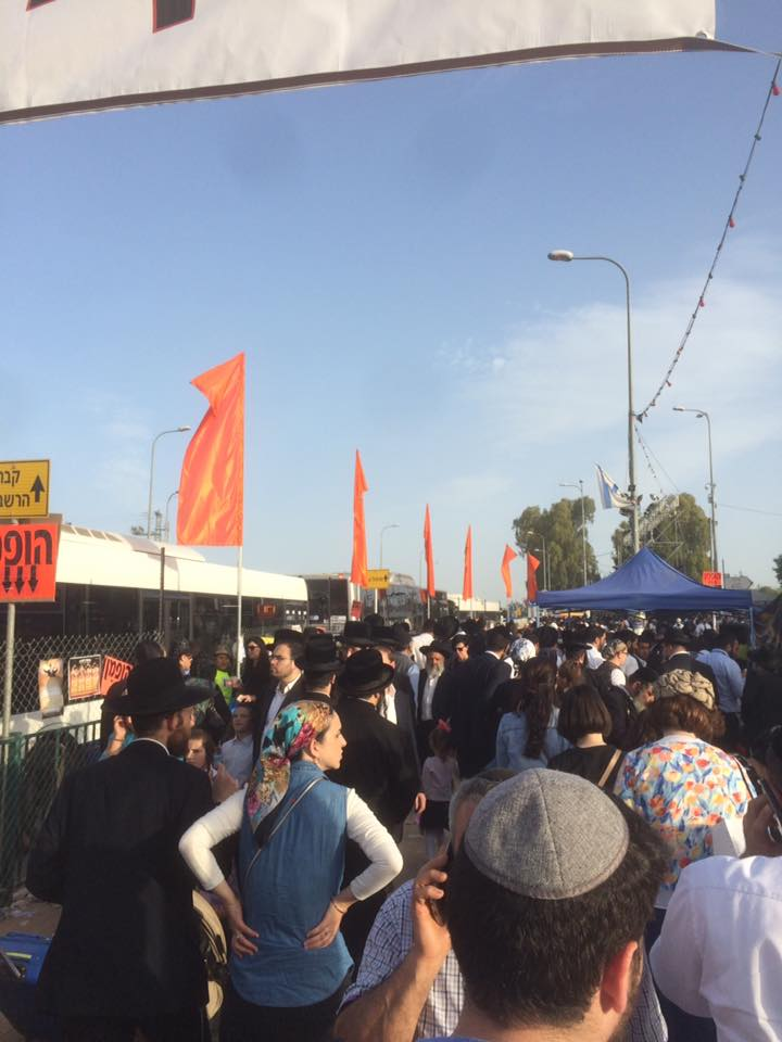 What's happening with Lag Baomer in Meron this year?