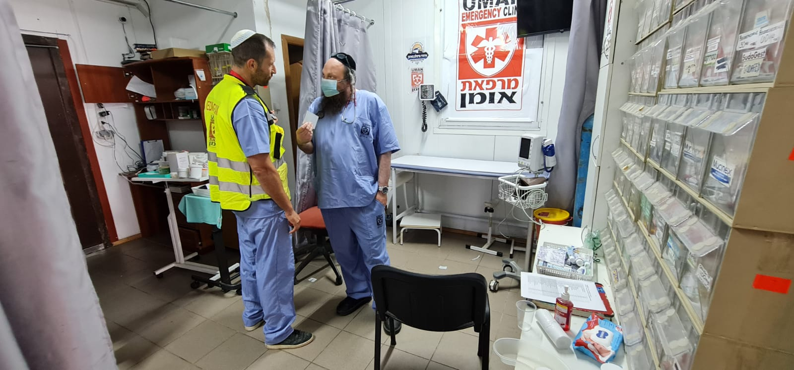 Read more about the article Summary of activities at the Uman Clinic over Rosh Hashanah 2021